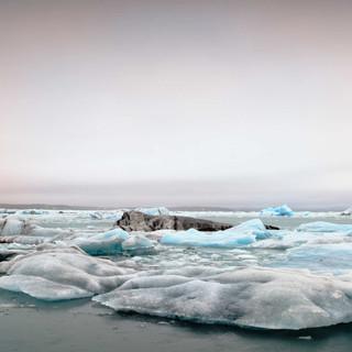 Island Jökulsarlon Eisfelder