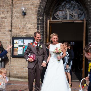 Hochzeit mit kirchlicher Trauung