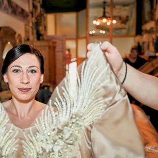 Hochzeitsfeier Braut