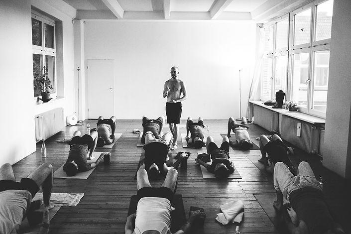 Tom Barber Yoga Forrest Yoga Vimeo On Demand Yoga