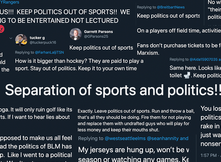 The Separation of Sport and State