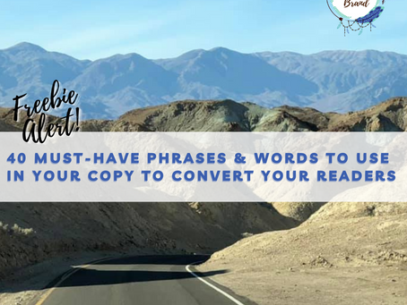 40 Words That Convert: A Cheat Sheet for Your 2021 Copy