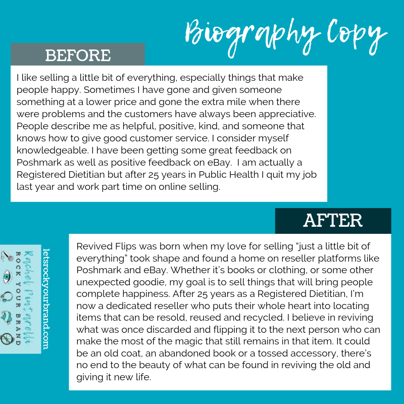 Reseller: Before & After Copy Project