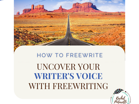 Find Your Writer's Voice in Freewriting
