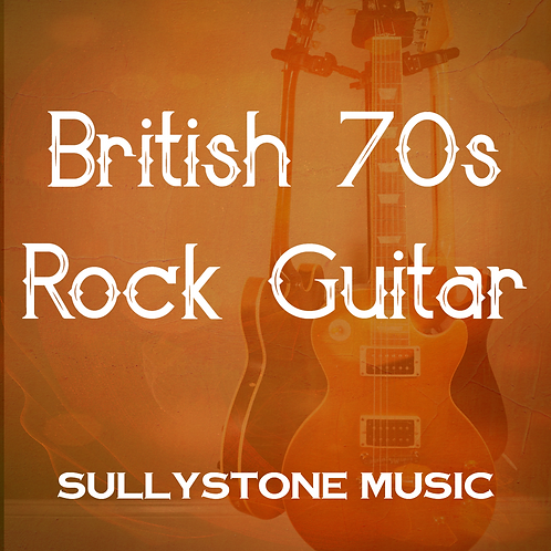 British 70s Rock Guitar