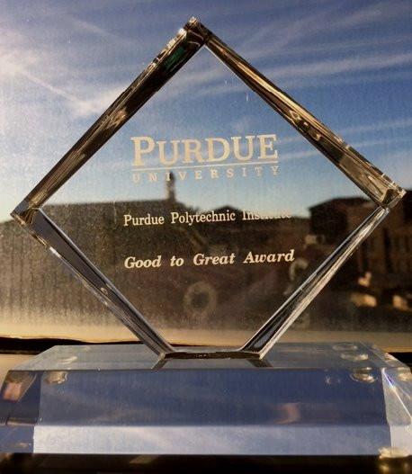 Good to Great Award