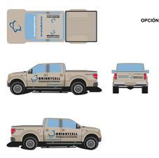 Publicidad en vehículo