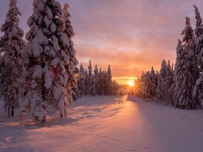 Winter: Tonight: Sunset