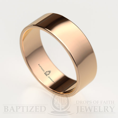 14K Gold Classic Wide Wedding Ring