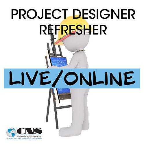 LIVE/ONLINE Asbestos Project Designer Refresher