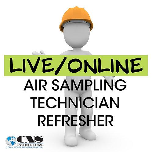 LIVE/ONLINE Asbestos Air Sampling Technician Refresher