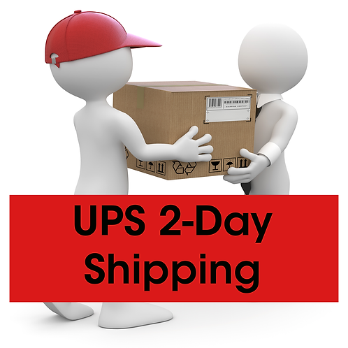 UPS 2-Day Shipping for Student Paperwork