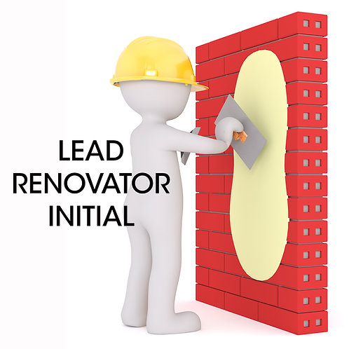 Lead RRP Certified Renovator Initial
