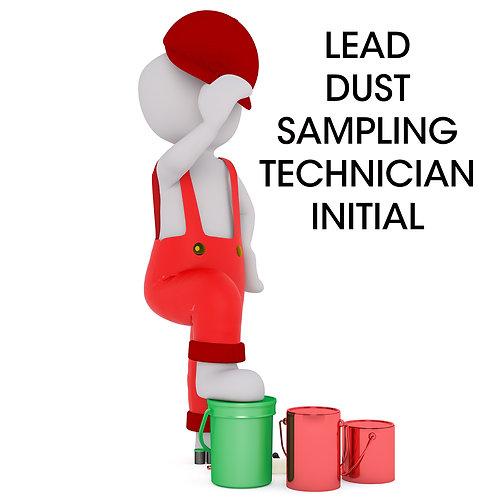 Lead RRP Certified Dust Sampling Technician Initial