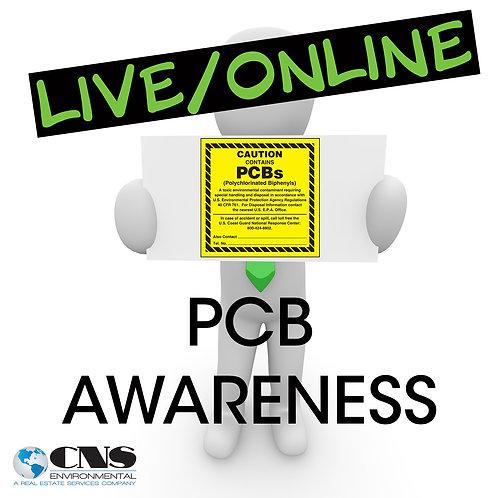 LIVE/ONLINE PCB Awareness
