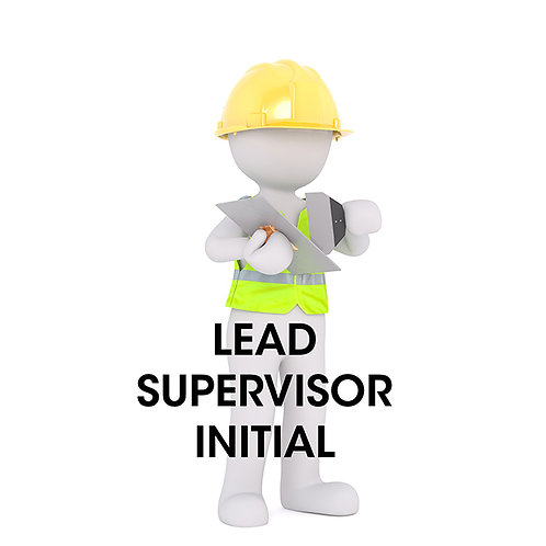 Lead Supervisor Initial