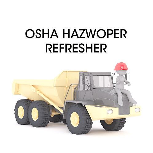 OSHA HAZWOPER Refresher Long Island