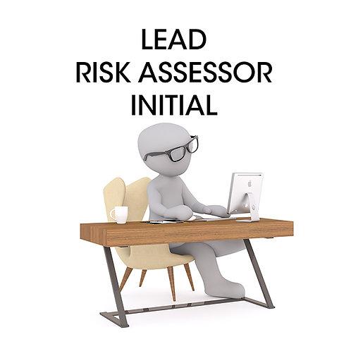 Lead Risk Assessor Initial