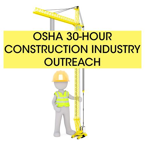 OSHA 30-hour Construction Industry Training Long Island