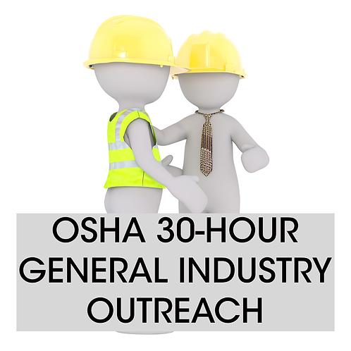 OSHA 30-hour General Industry Training Long Island
