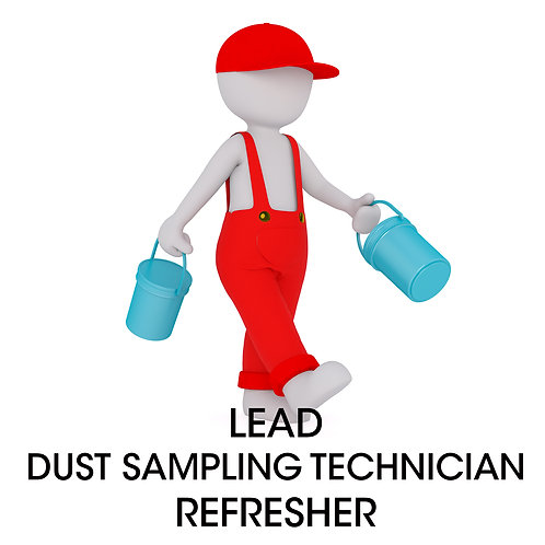Lead RRP Certified Dust Sampling Technician Refresher