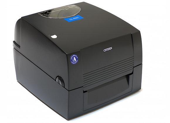 CITIZEN CL-S321 USB/RS232/Ethernet Термотрансферный принтер печати этикеток, шир