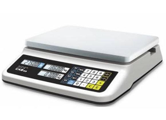 CAS PR-6B (LCD, II) RS232 Весы торговые без стойки, платформа из нержавеющей ста