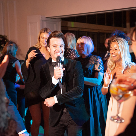 NORTH WEST WEDDING SINGER DEAN STANSBY
