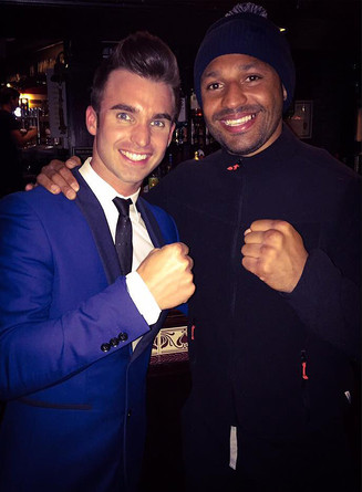 KELL BROOK WITH DEAN STANSBY