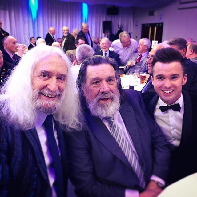 SINGER DEAN STANSBY WITH CHARLIE LANDSBOROUGH