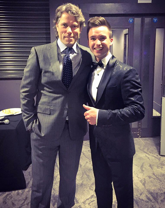 JOHN BISHOP WITH DEAN STANSBY