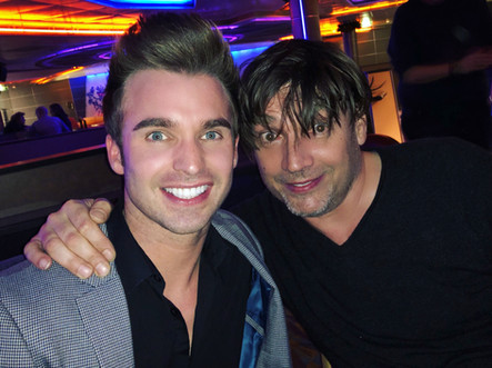 ALEX JAMES WITH DEAN STANSBY