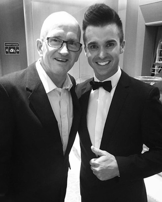 EDDIE THE EAGLE WITH DEAN STANSBY