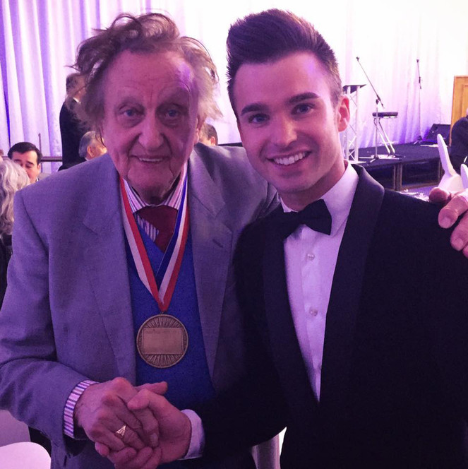 DEAN STANSBY PERFORMING FOR SIR KEN DODD