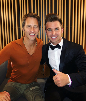 Chesney Hawkes and Dean Stansby P&O Cruises Guest Entertainer