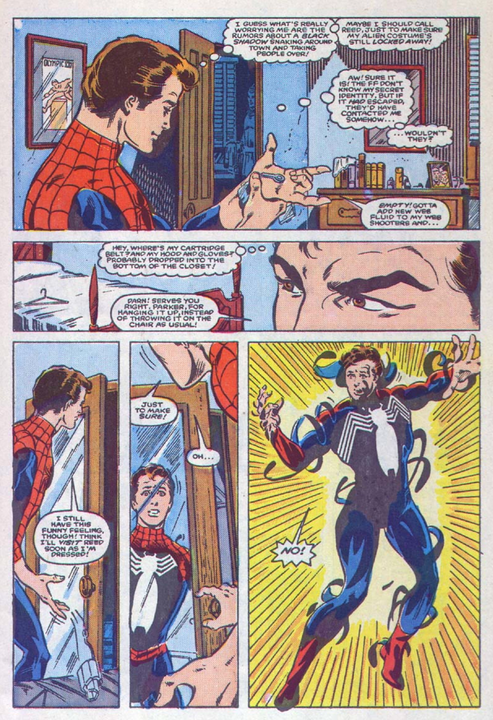 Web of Spider-Man #1 (1985)