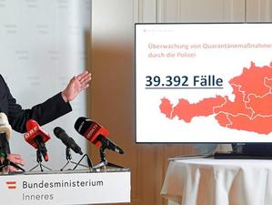 Weekly update: Interior Minister Karl Nehammer (ÖVP) criticises Vienna's COVID-19 response