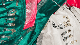 Weekly update: The velour tracksuit is back in all of its glittery glory