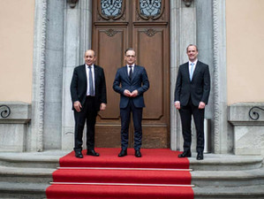 Weekly update: meeting of UK, German and French foreign ministers