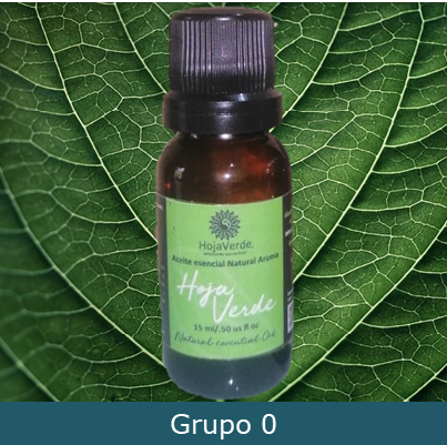 Aceite Esencial grupo 0