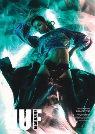 HUF magazine cover