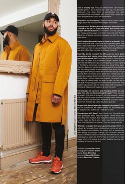 Rapper Yungen for 1883 Magazine