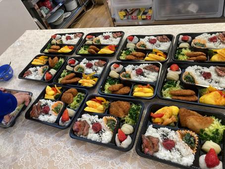 新年度も、めぐみ子ども食堂は、夕食弁当配食サービスを続けます!