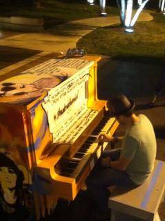 Grant at Piano in Indianapolis