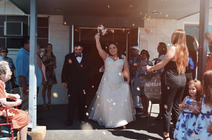 Wedding in Red Bluff