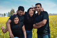 Pushpa Family in Spring - funny outtake