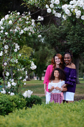 Family Session at the Rose Garden