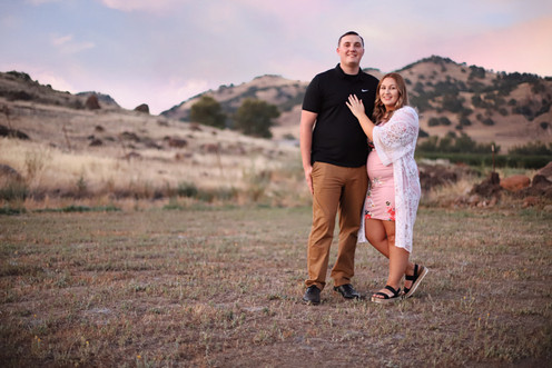 Maternity Session at the Buttes