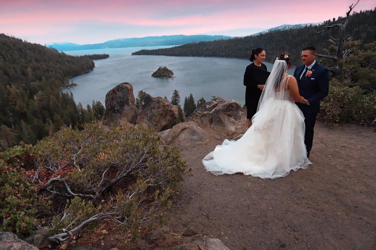 Hess Wedding - Lake Tahoe