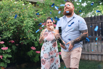 Simonson Gender Reveal Party
